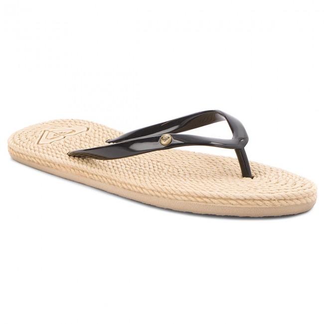 c972a8ef1f5b52 Slides ROXY - ARJL100685 Black - Flip-flops - Mules and sandals ...