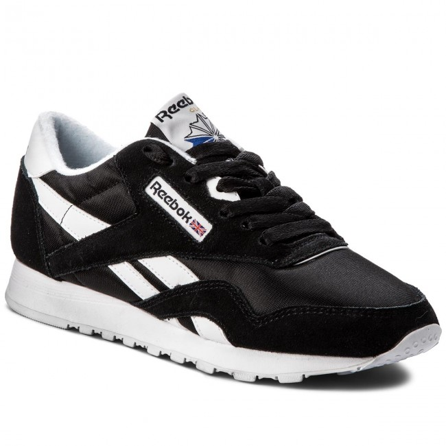 info for 155f8 c4f49 Shoes Reebok - Cl Nylon 6606 Black/White - Sneakers - Low shoes ...