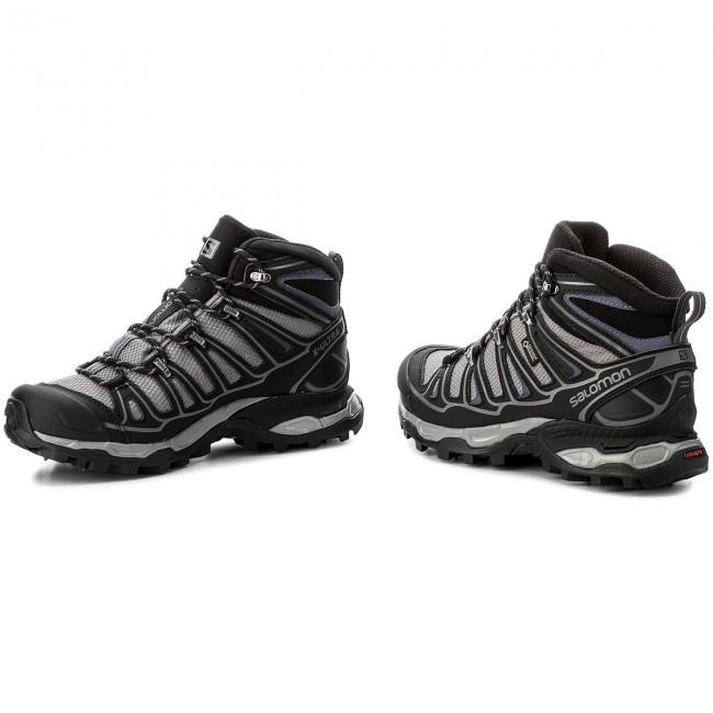 Piscina Distribuire pena  Trekker Boots SALOMON - X Ultra Mid 2 Spikes Gtx GORE-TEX 377821 20 V0  Detroit/Black/Artist Grey X - Trekker boots - High boots and others -  Women's shoes | efootwear.eu