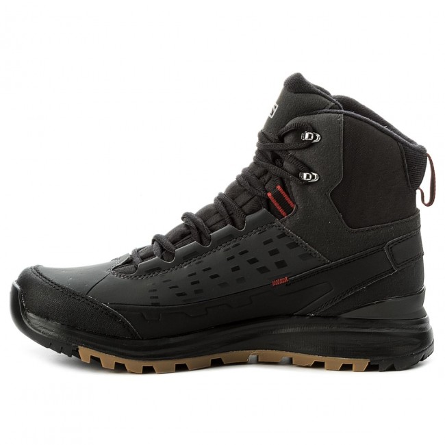 Trekker Boots SALOMON Kaipo Mid Gtx GORE TEX 372812 28 V0 BlackAsphaltFlea