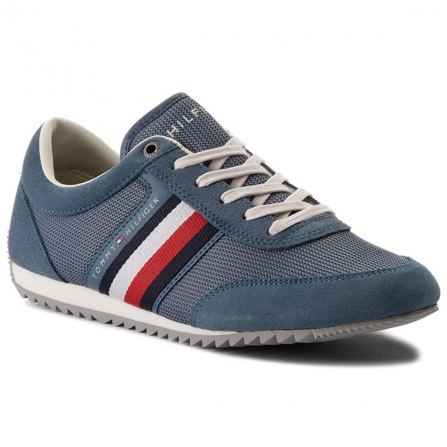 186783b10df Sneakers TOMMY HILFIGER. Corporate Material Mix Runner FM0FM01314 Jeans 013