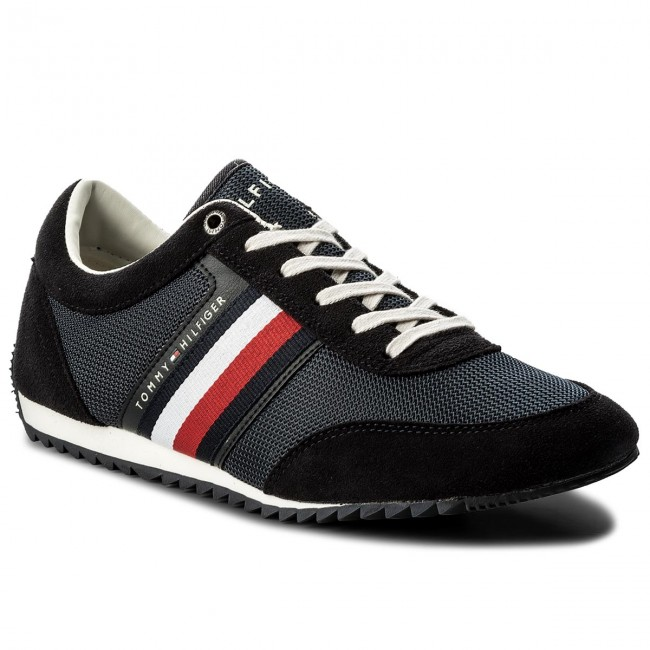 7acce53dd8180 Sneakers TOMMY HILFIGER - Corporate Material Mix Runner FM0FM01314 ...