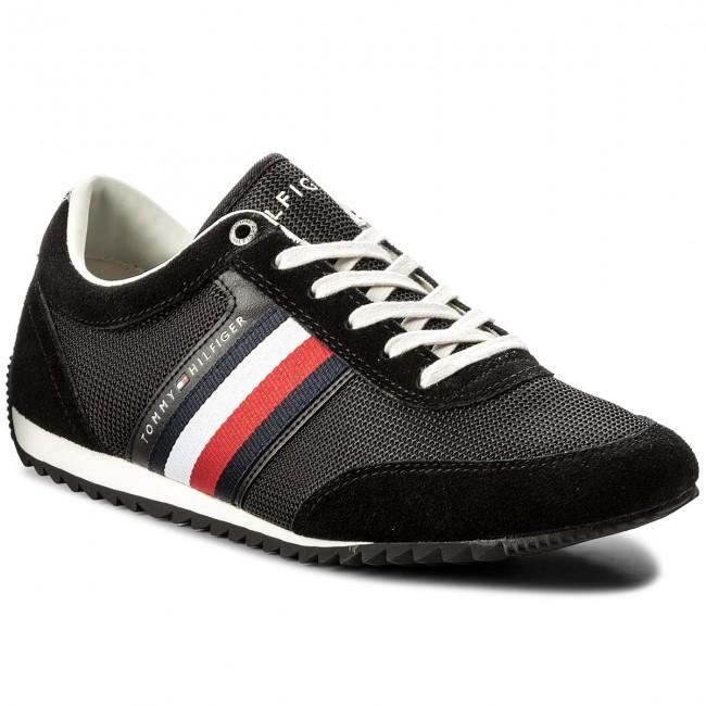 f456e109e4 Sneakers TOMMY HILFIGER. Corporate Material Mix Runner FM0FM01314 Black 990
