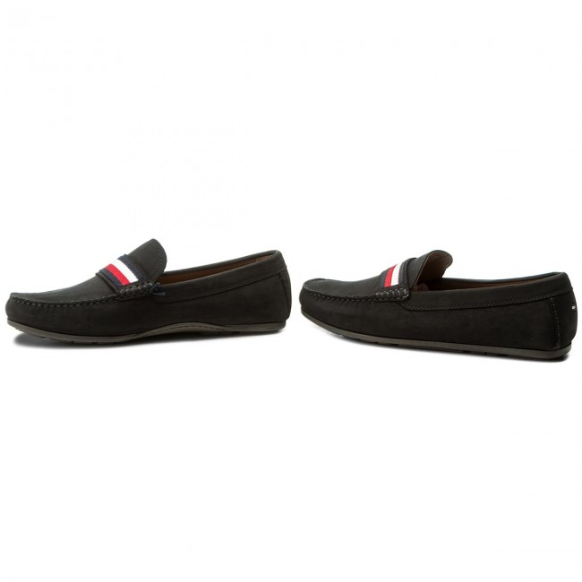 f0a4ec490835 Moccasins TOMMY HILFIGER - Corporate Tape Loafer FM0FM01247 Midnight ...