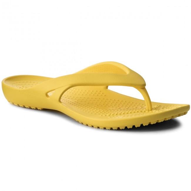 655810585c4a Slides CROCS - Kadee II Flip W 202492 Lemon - Flip-flops - Mules and ...