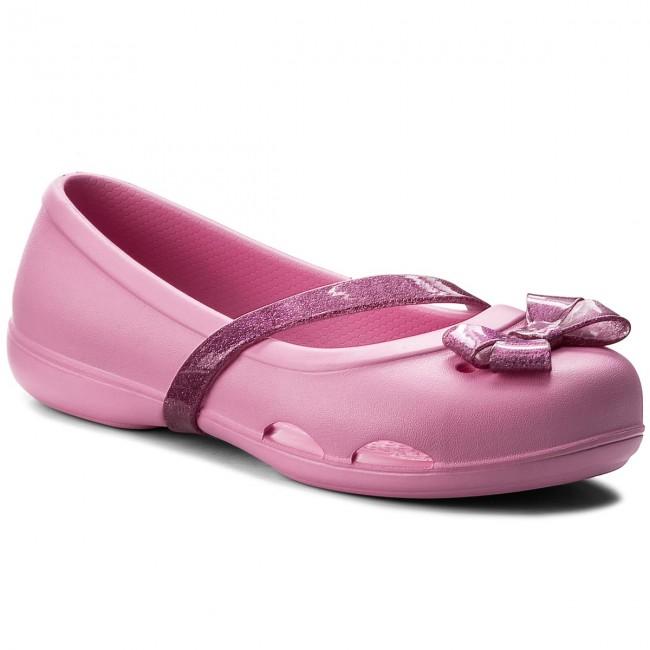 b82dc3d6089d Flats CROCS - Lina Flat K 204028 Party Pink - Ballerina shoes - Low ...