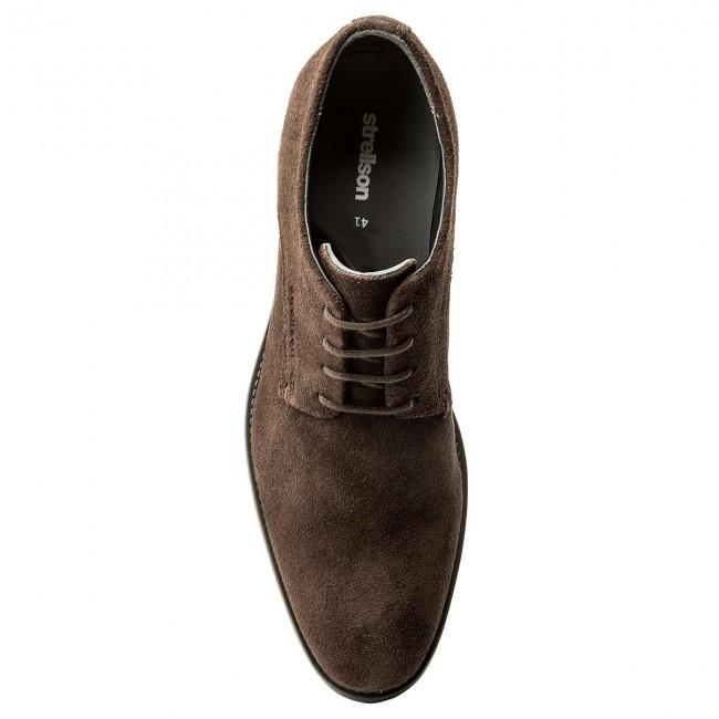 separation shoes 73da3 85a9c Shoes STRELLSON - New Harley 4010002388 Dark Brown 702