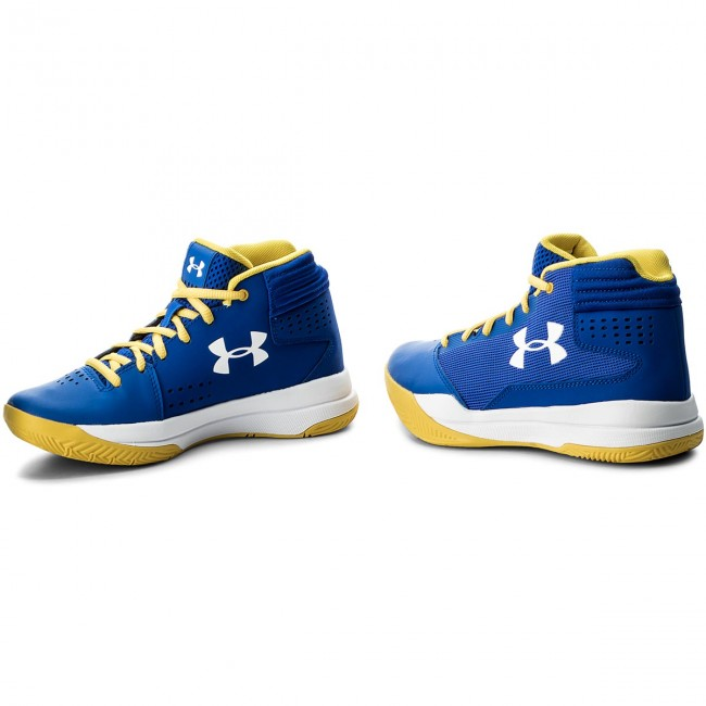 online retailer fb27e 4cc0b Shoes UNDER ARMOUR - Ua Bgs Jet 2017 1296009-400 Try Wht Wht