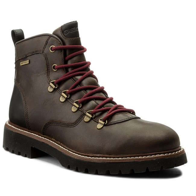 precisamente consultor al límite  Hiking Boots GEOX - U Kieven B Abx A U641VA 000CL C6009 Coffee - Trekker  boots - High boots and others - Men's shoes | efootwear.eu