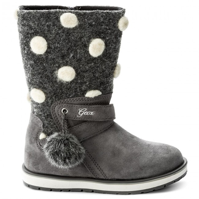 Knee High Boots GEOX J Noha A J6460A 022NY C1006 S Grey