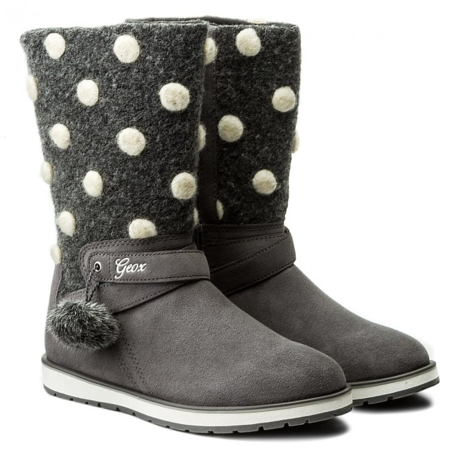 Knee High Boots GEOX J Noha A J6460A 022NY C1006 D Grey