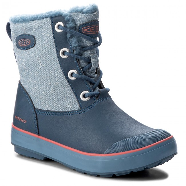 28fbe10b0f7 Snow Boots KEEN - Elsa Boot Wp 1017518 Captains Blue/Sugar Coral ...