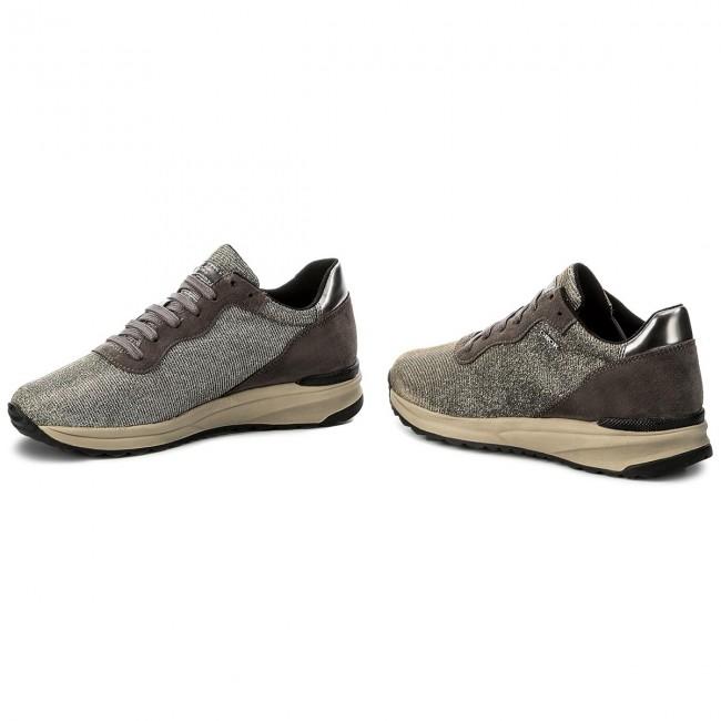 Sneakers Geox - D Airell B D642sb 0ew22 C1g9f Gun/dk Grey hYpaP8R7
