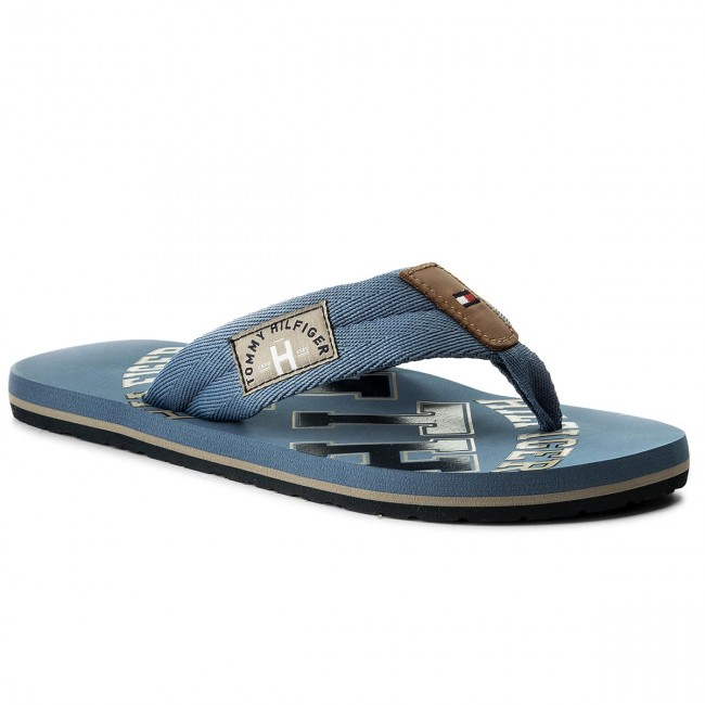 Tommy Jeans BEACH SLIDE - Mules - blue