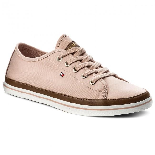 c9a1aae51 Plimsolls TOMMY HILFIGER. Iconic Kesha Sneaker FW0FW02823 Dusty Rose 502