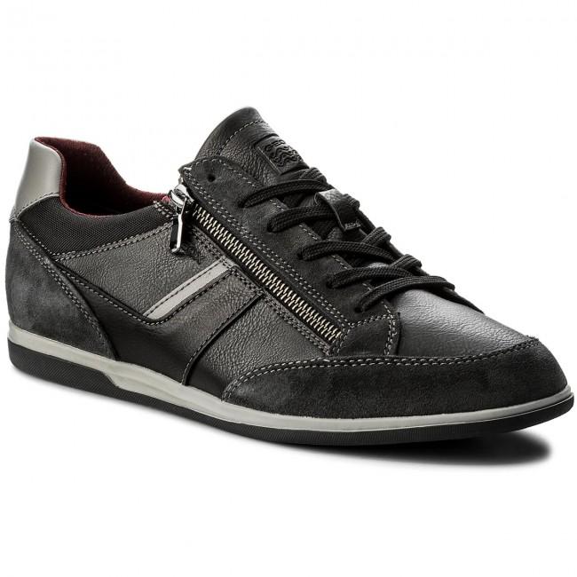 Sneakers GEOX - U Renan C U824GC 0ME22 C0005 Black/Dk Grey