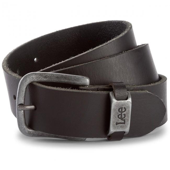 02afd19b6a695c Men's Belt LEE - LC125501 90 Black - Men's belts - Belts - Leather goods -  Accessories - efootwear.eu