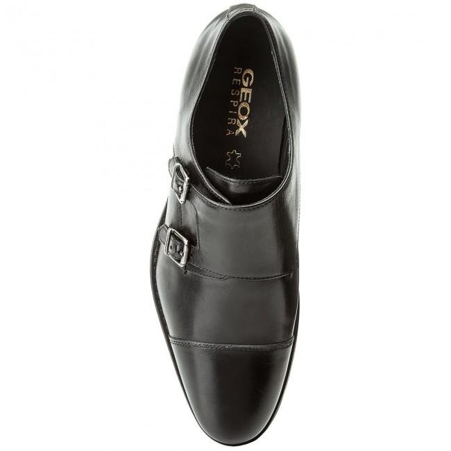 Escabullirse liberal pómulo  Shoes GEOX - U Hampstead B U74E3B 00043 C9999 Black - Formal shoes - Low  shoes - Men's shoes | efootwear.eu