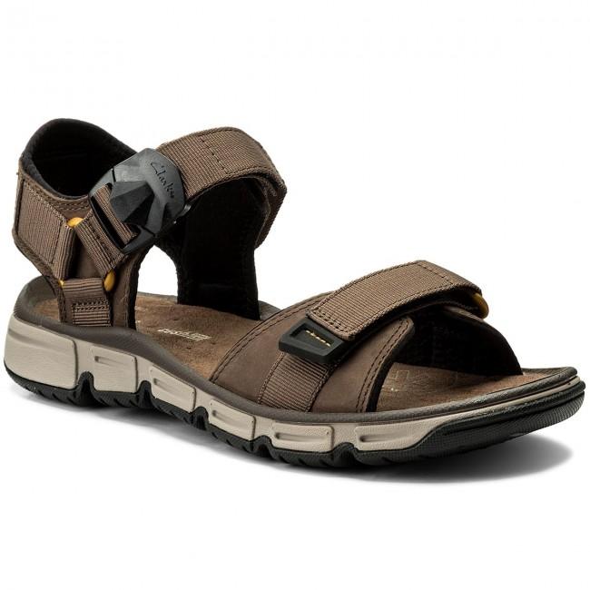 3b5d92d931c11c Sandals CLARKS - Explore Part 261246437 Mushroom Nubuck - Sandals ...