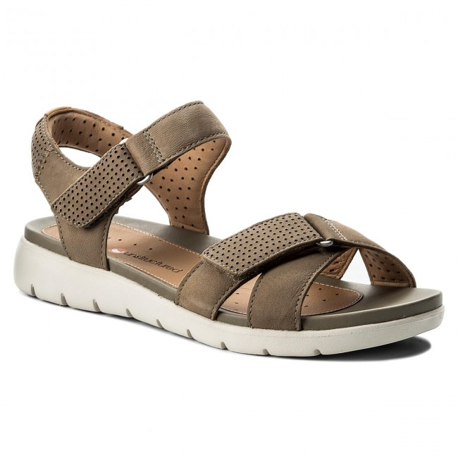 Sage nubuck 'UN SAFFRON' sandals buy cheap under $60 oP9vmt