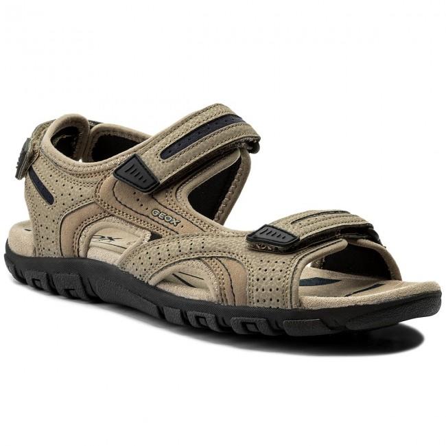 b2f58b865c4b Sandals GEOX - U S.Strada D U8224D 050AU C0829 Sand Navy - Sandals ...