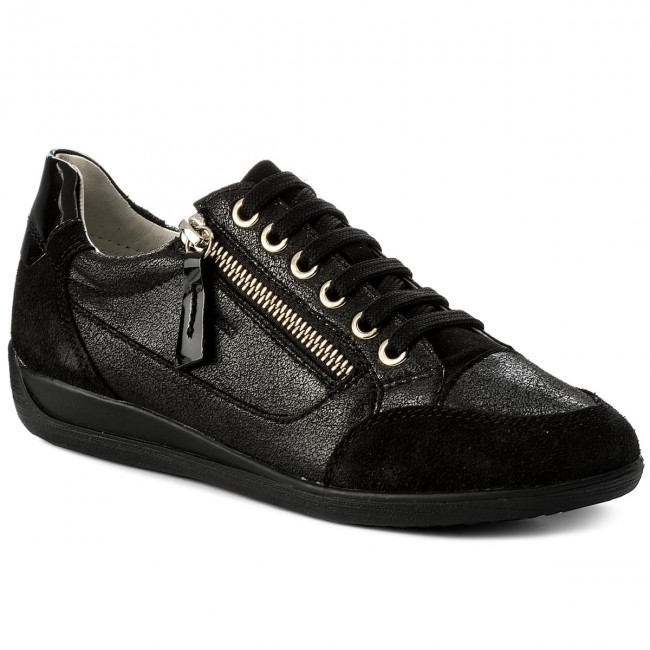 Sneakers GEOX - D Myria A D6468A 0QD22 C4002 Navy Descuento 2018 Nuevo Nxn8v