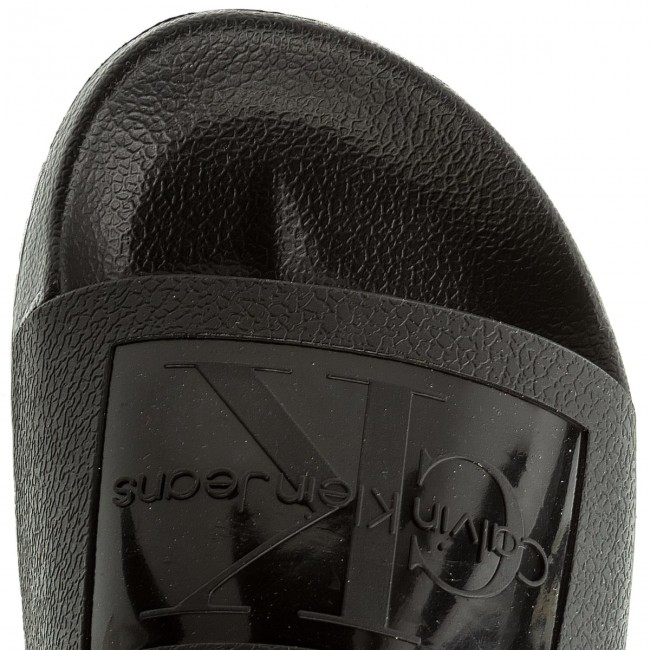 13d23601d871 Slides CALVIN KLEIN JEANS - Vincenzo S0547 Black - Clogs and mules - Mules  and sandals - Men s shoes - www.efootwear.eu
