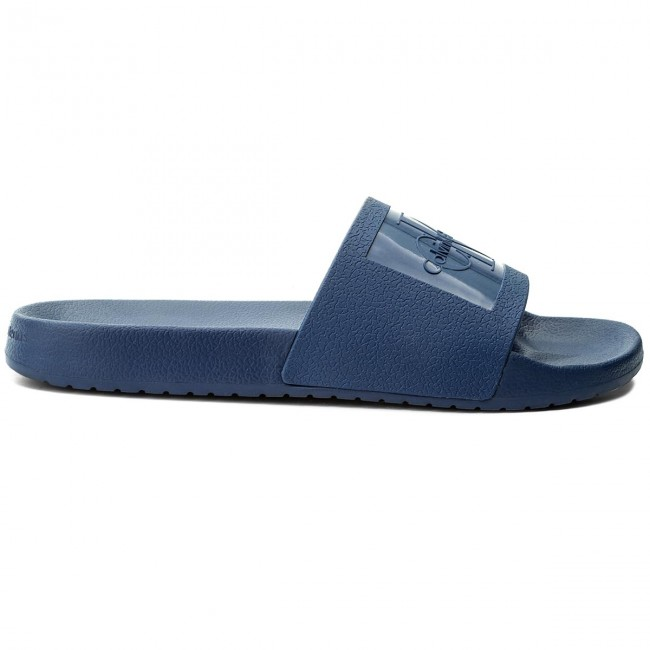 b4790355bbc1 Slides CALVIN KLEIN JEANS - Vincenzo S0547 Steel Blue - Clogs and mules -  Mules and sandals - Men s shoes - www.efootwear.eu