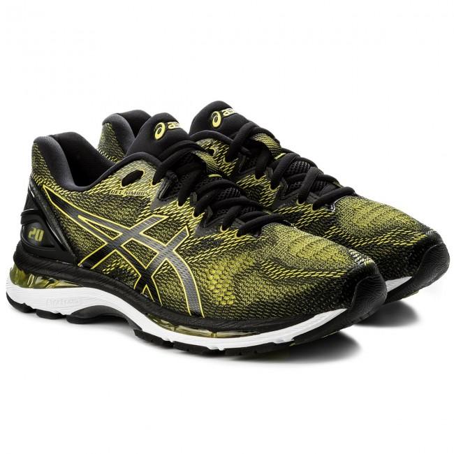 Shoes ASICS Gel Nimbus 20 T800N Sulphur SpringBlackWhite 8990