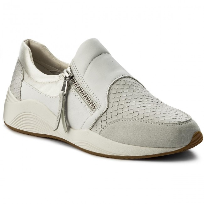 Sneakers GEOX - D Omaya A D620SA 0ZVAF C1002 Off White - Sneakers ... 6266297906a