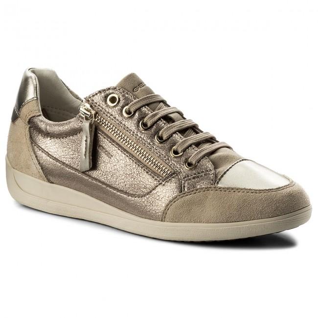 b118d38fc3 Sneakers GEOX - D Myria A D6468A 0CD22 C9HH6 Lead/Lt Taupe ...
