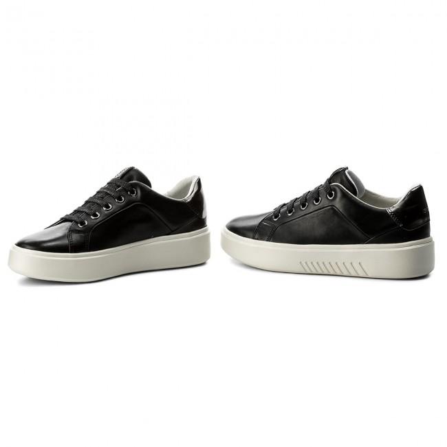 Sneakers GEOX - D Nhenbus A D828DA 00085 C9999 Black HMHSnbyHtd