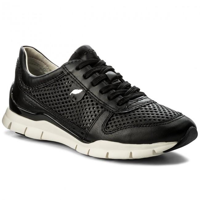 sports shoes 890dd d587c Sneakers GEOX - D Sukie F D62F2F 08554 C9999 Black