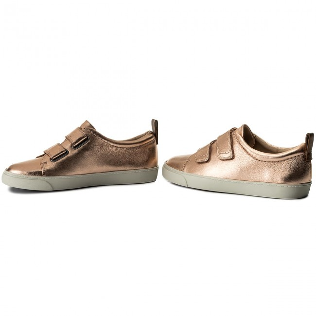 Sneakers CLARKS - Glove Daisy 261309834 Rose Gold OLhWDlYFGX