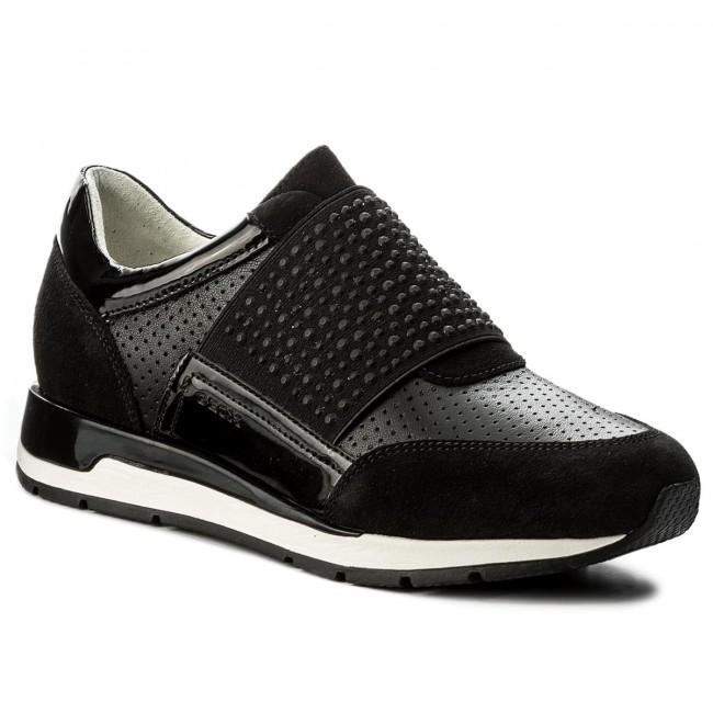 Sneakers GEOX - D Shahira A D82N1A 02285 C9999 Black 58wID0