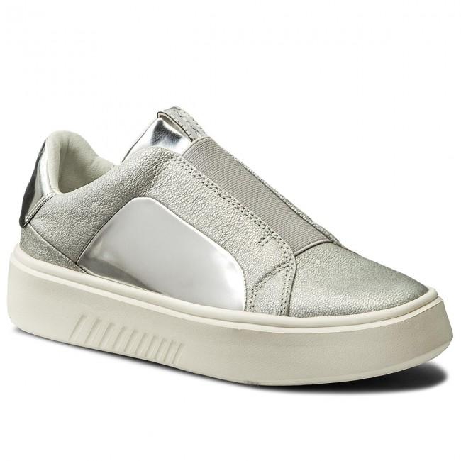 Sneakers GEOX - D Nhenbus B D828DB 0KYBN C1007 Silver - Sneakers ... 51bac34aee6
