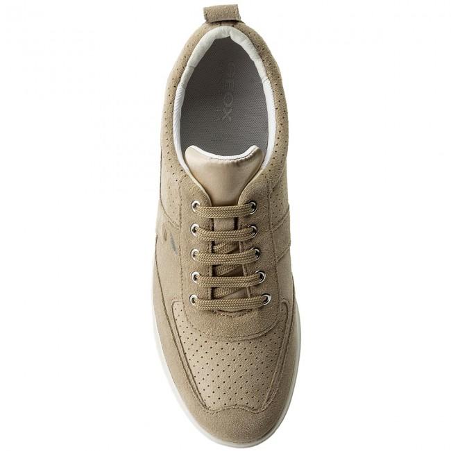 Gomesia C D 00022 C6738 D828gc Taupe Geox Sneakers Lt EeH9WDIY2b