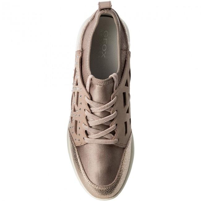 Geox D Ophira B D821CB 015QD C8056 Antique Rose Sneakers