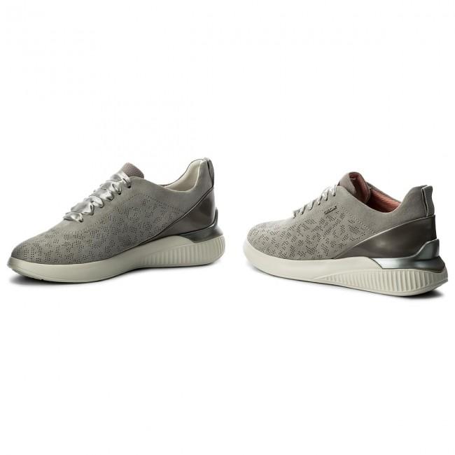 Sneakers GEOX - D Theragon C D828SC 022BC C1010 Lt Grey