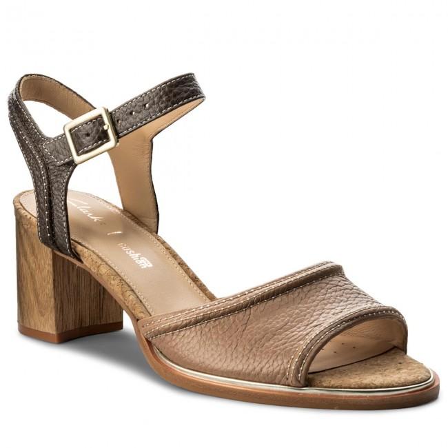 Sandalen CLARKS - Ellis Clara 261310714 Nude Leather OC0tO51