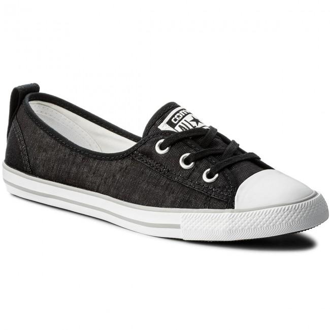 Sneakers CONVERSE Ctas Ballet Lace Slip 555869C BlackWhiteMouse