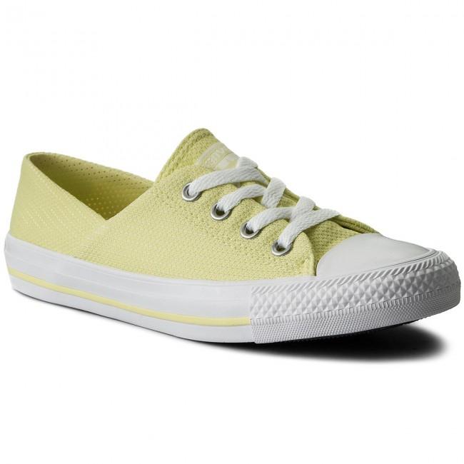 best service 8f4ed 6af39 Sneakers CONVERSE. Ctas Coral Ox 555896C Lemon Haze Lemon Haze White