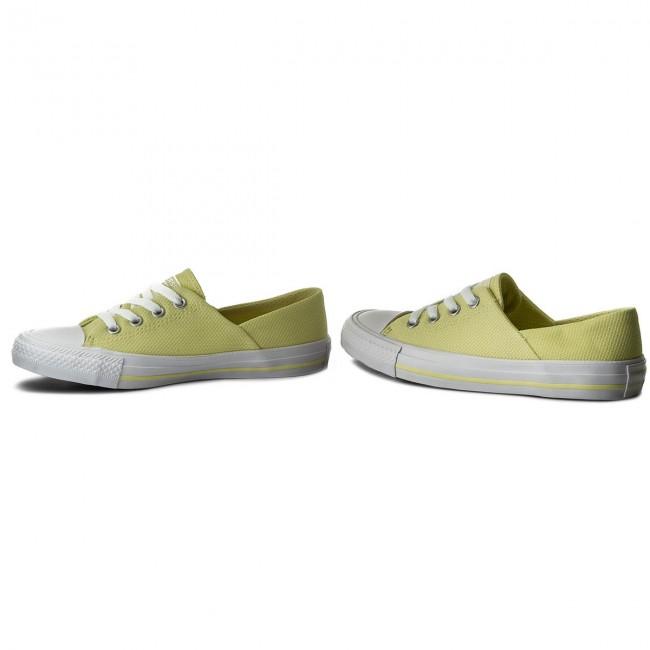 size 40 c21a7 4feeb Sneakers CONVERSE - Ctas Coral Ox 555896C Lemon Haze Lemon Haze White