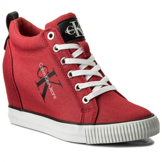 e8f1854b8e4 Sneakers CALVIN KLEIN JEANS - Ritzy R8957 Red - Sneakers - Low shoes ...