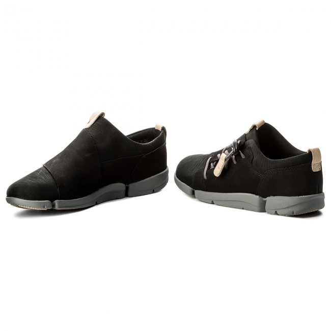 Sneakers CLARKS - Tri Camilla 261317604 Black Nubuck