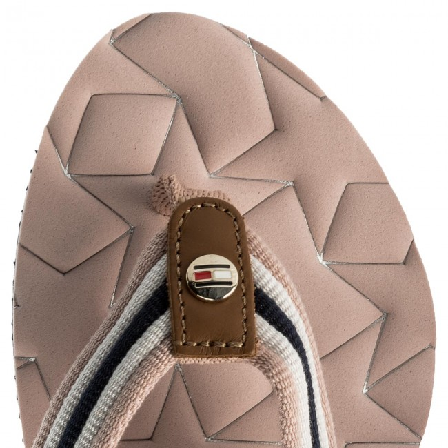 0a1c8b60e31757 Slides TOMMY HILFIGER - Comfort Low Beach Sandal FW0FW02368 Dusty Rose 502  - Flip-flops - Mules and sandals - Women s shoes - www.efootwear.eu
