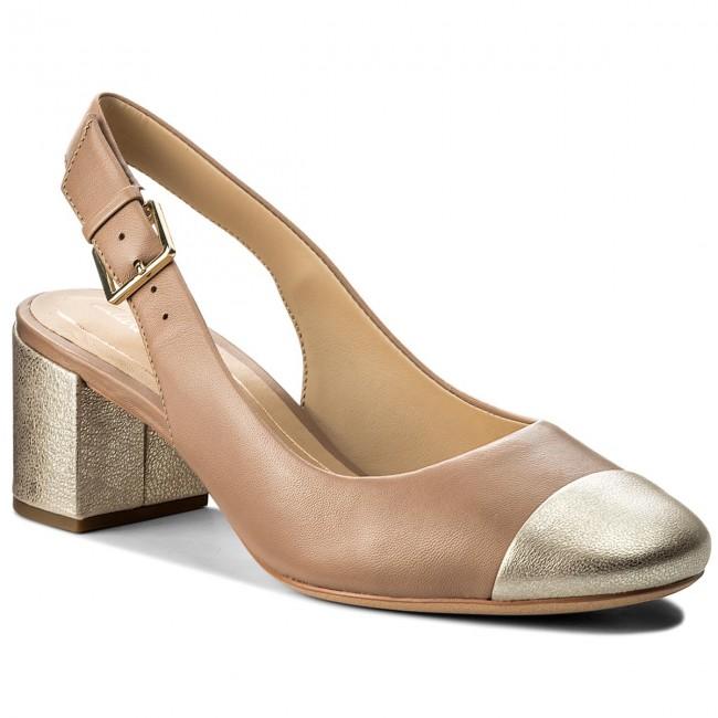 23b046fe71bf Sandals CLARKS - Orabella Meg 261319924 Nude - Casual sandals ...