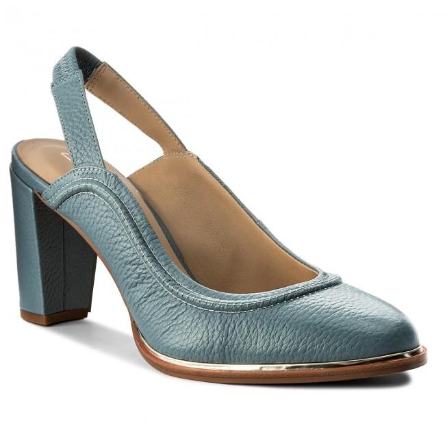 183d62763d3242 Sandals CLARKS - Ellis Ivy 261319964 Blue Leather - Casual sandals ...