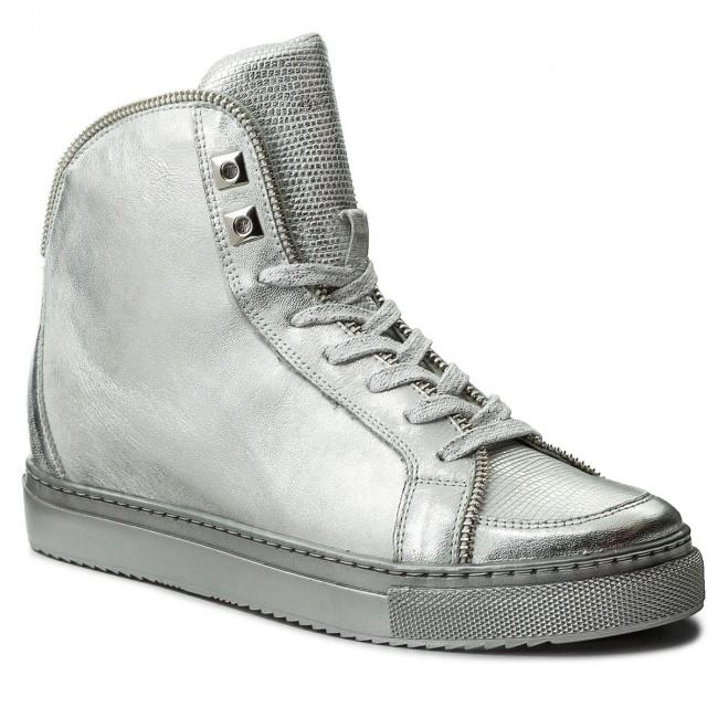 Sneakers BADURA - 6337-69 Srebrny fH2bTCO7