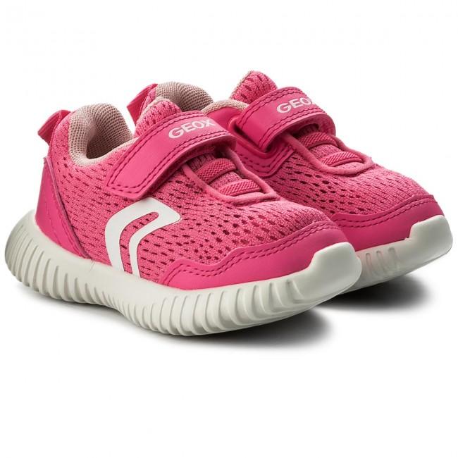 4e75453b60b Sneakers GEOX - B Waviness G. B B821XB 014BC C8033 M Fluo Fuchsia ...